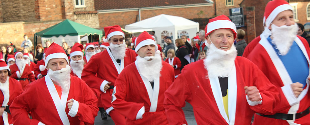 The Kirkbymoorside 10k, Snape Fun Run, Scarborough & Malton Santa Charity Runs
